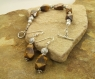 Handmade-Tiger's-Eye-Sterling-Silver-Bracelet-Earring-Set