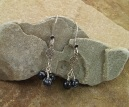 Handmade Black Obsidian Earrings